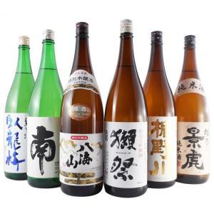 日本酒 飲み比べセット 一升瓶 6本 臥龍梅、南、八海山、獺...