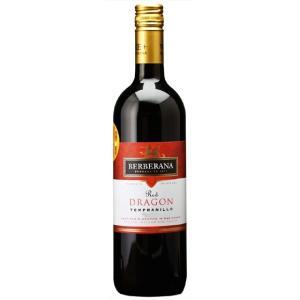 ホワイトデー ギフト ワイン テンプラニーリョ ドラゴン ピノ・デ・ラ・テイエラ / ベルベラーナ 赤 750ml 12本セット スペイン 赤ワイン|syurakushop