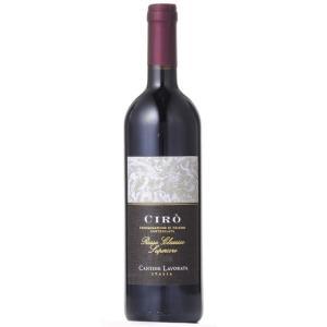ホワイトデー ギフト チロ・ロッソ・クラシコ / カンティーナ・ラヴォラータ 赤 750ml イタリア カラブリア 赤ワイン|syurakushop