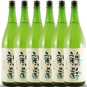 ホワイトデー ギフト プレゼント 日本酒 鶴齢 純米吟醸 1800ml 6本セット 送料無料 新潟県 青木酒造 syurakushop