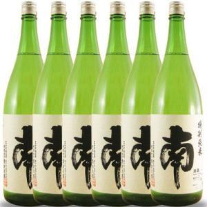 母の日 ギフト 日本酒 南 特別純米 1800ml 6本セット 高知県 南酒造場|syurakushop