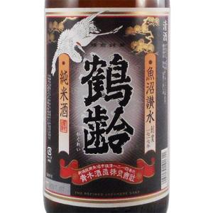ホワイトデー ギフト プレゼント 日本酒 鶴齢 純米 1800ml 新潟県 青木酒造 syurakushop