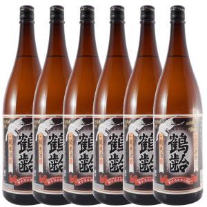 ホワイトデー ギフト プレゼント 日本酒 鶴齢 純米 1800ml 6本セット 新潟県 青木酒造 syurakushop