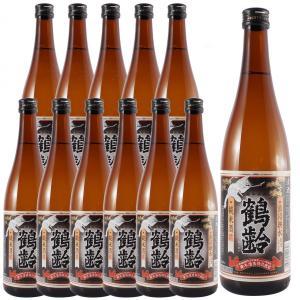 ホワイトデー ギフト プレゼント お酒 鶴齢 純米 720ml 12本入り (新潟県/青木酒造/日本酒) syurakushop