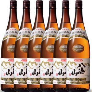 ホワイトデー ギフト プレゼント 日本酒 八海山 特別本醸造 1800ml 6本セット 送料無料 新潟県 八海山|syurakushop