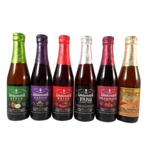 敬老の日 ギフト プレゼント  お酒 ベルギークラフトビール 飲み比べ6本セット リンデマンス 送料無料|syurakushop