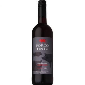 バレンタイン ギフト プレゼント ワイン ポルコ ティント 750ml 肉食系赤ワイン (ポルトガル/赤ワイン)|syurakushop