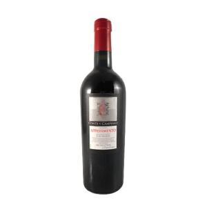 ホワイトデー ギフト ワイン コンテ・ディ・カンピアーノ アパッシメント ネグロアマーロ・パッシート 赤 750ml イタリア プーリア 赤ワイン|syurakushop
