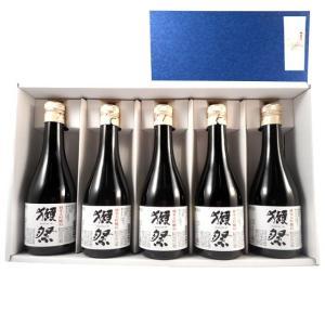 ギフト 日本酒 獺祭 純米大吟醸50 小瓶 300ml 5本...