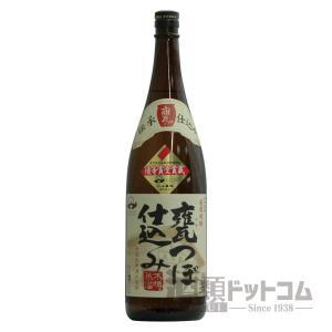 薩摩焼酎 甕つぼ仕込み 1800ml|syurui-net