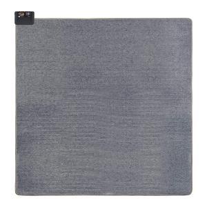 コウデン ホットカーペット 2畳 本体 グレー 小さく畳める 省エネ 面切換 8hOFF スライド温度調節 ダニクリーン 176×176cm VWU2015 syuunounavi