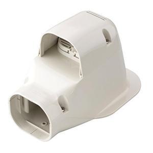 因幡電工 配管化粧カバー ウォールコーナー 換気エアコン用 壁面取り出し アイボリー LDWK-70S-I|syuunounavi