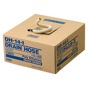 因幡電工 エアコン用 ドレンホース アイボリー DH-14-I|syuunounavi