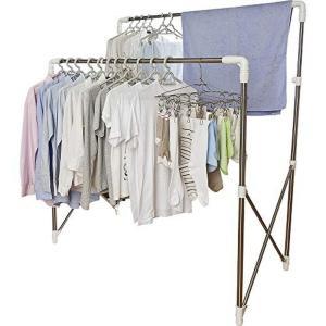 アイリスオーヤマ 洗濯物干し 布団干し 室内物干し 物干しスタンド 約4人用 多機能物干し 簡単組み...