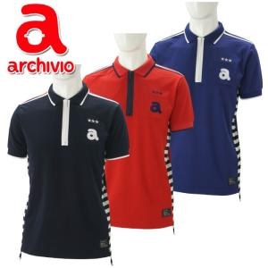 クリアランス 35%OFF アルチビオ archivio  ゴルフ ポロシャツ 半袖 A769305 メンズ 2018年春夏|szone