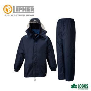 LIPNER リプナー フィルダースーツ ネイビー 2312328 レインウェア メンズ|szone