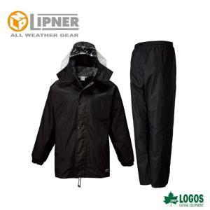 LIPNER リプナー フィルダースーツ ブラック 2312371 レインウェア メンズ|szone