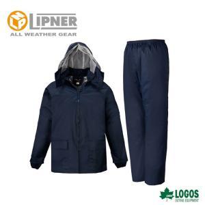LIPNER リプナー エース総裏メッシュ(袋入り) ネイビー 2321028 レインウェア メンズ|szone