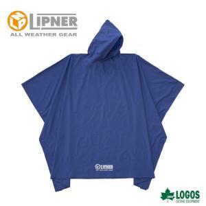 ○LIPNER リプナー PVCポンチョ ブルー 23712159 レインウェア メンズ|szone
