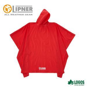 ○LIPNER リプナー PVCポンチョ レッド 23712419 レインウェア メンズ|szone