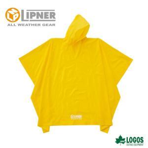 ○LIPNER リプナー PVCポンチョ イエロー 23712529 レインウェア メンズ|szone