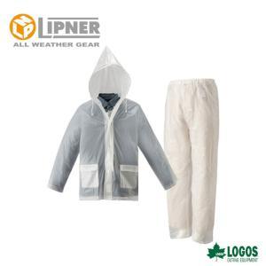 LIPNER リプナー ザックレインスーツ クリア 2371400 レインウェア メンズ|szone