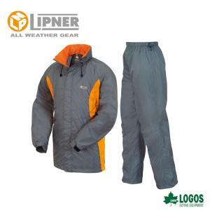 LIPNER リプナー 透湿レインスーツ ボルダー チャコール 2804325 レインウェア メンズ|szone