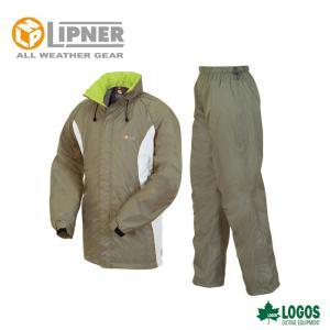 LIPNER リプナー 透湿レインスーツ ボルダー カーキ 2804357 レインウェア メンズ|szone