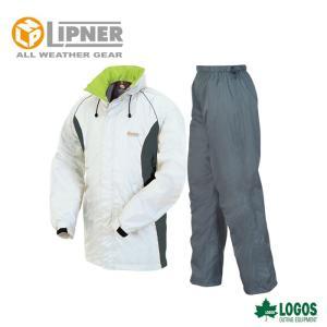 LIPNER リプナー 透湿レインスーツ ボルダー シルバー 2804376 レインウェア メンズ|szone