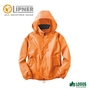 ○LIPNER リプナー ウインドシャッター ネオンオレンジ 2809955 防水防寒ウェア メンズ|szone
