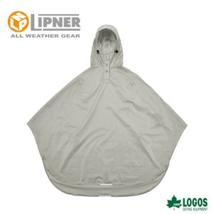 LIPNER リプナー サイクルレインポンチョ グレー 2827121 レインウェア メンズ|szone