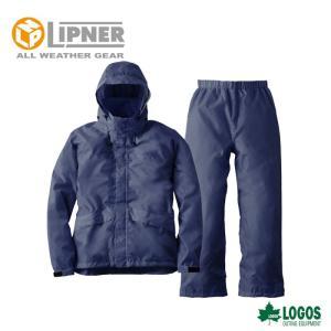 LIPNER リプナー 透湿レインスーツ アルフ ネイビー 2865228 レインウェア メンズ|szone