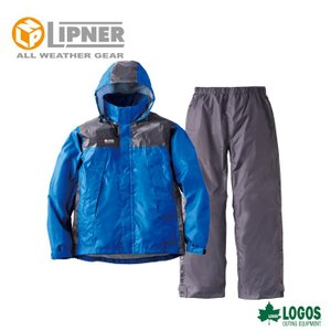 LIPNER リプナー リフレクターレインスーツ クライン ブルー 2865315 レインウェア メンズ|szone