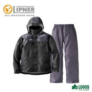 LIPNER リプナー リフレクターレインスーツ クライン ブラック 2865371 レインウェア メンズ|szone