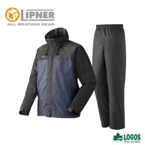 LIPNER リプナー LVS透湿レインスーツ チェスター チャコール 2865425 レインウェア メンズ|szone