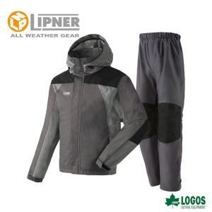 LIPNER リプナー タフレインスーツ バイタル グレー 2866021 レインウェア メンズ|szone