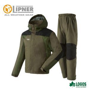LIPNER リプナー タフレインスーツ バイタル カーキ 2866057 レインウェア メンズ|szone