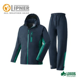 LIPNER リプナー ストレッチレインスーツ トリガー ネイビー 2866228 レインウェア メンズ|szone