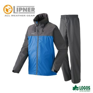 LIPNER リプナー OVSレインスーツピート ロイヤルブルー 2873315 レインウェア メンズ|szone