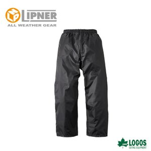 LIPNER リプナー スプラッシュレインパンツ ブラック 3014971 レインウェア メンズ|szone