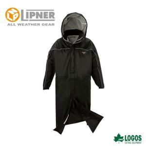LIPNER リプナー リプナーロングコート ブラック 3016371 レインウェア メンズ|szone