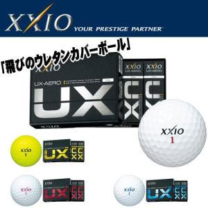 ゼクシオ UX エアロ ゴルフボール UX AERO DRIVE 1ダース(12球) 2016年モデル