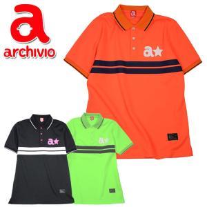 クリアランス アルチビオ archivio  ゴルフ ポロシャツ 半袖 A829801 メンズ 2018年秋冬|szone