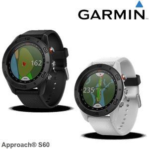 ガーミン GARMIN 腕時計型GPSゴルフナビ アプローチ60 ブラック/ホワイト Approach S60 日本正規品|szone