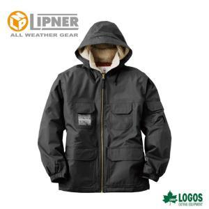 ○LIPNER リプナー 防水防寒ジャケット フォード ブラック 3050471 防水防寒ウェア メンズ|szone