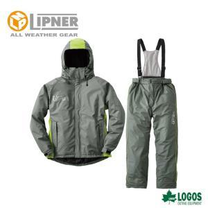 ○LIPNER リプナー 油に強い防水防寒スーツ サーレ グレー 3061521 防水防寒ウェア メンズ|szone