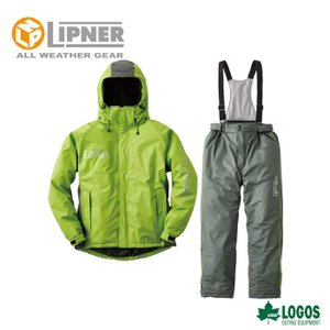 ○LIPNER リプナー 油に強い防水防寒スーツ サーレ グリーン 3061536 防水防寒ウェア メンズ|szone