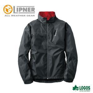 ○LIPNER リプナー ウインドブレーカー ウッディ ブラック 3078171 防水防寒ウェア メンズ|szone