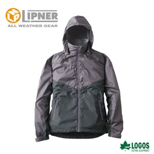 ○LIPNER リプナー リフレクターウインドジャケット チャック チャコール 3078225 防水防寒ウェア メンズ|szone