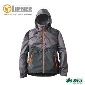 ○LIPNER リプナー リフレクターウインドジャケット チャック オレンジ 3078256 防水防寒ウェア メンズ szone
